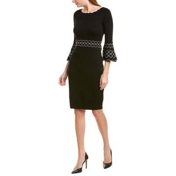 Gabby Skye Womens Sweaterdress