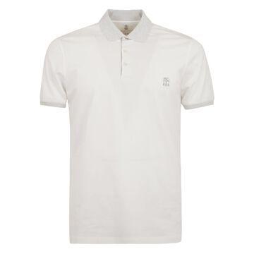 Brunello Cucinelli Classic Logo Polo Shirt