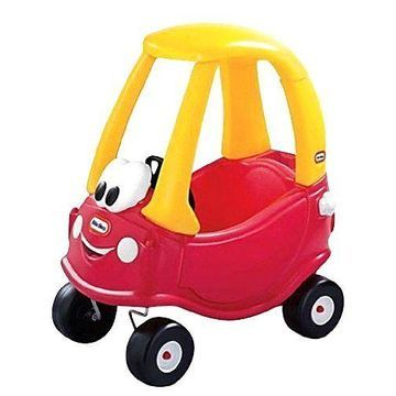 NEW 30TH ANNIVERSARY CAR TOY COZY COUPE LITTLE TIKES TYKES RIDE ON PARENT PUSH