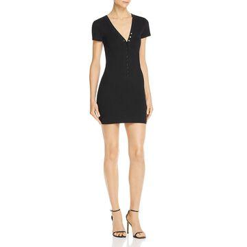 T by Alexander Wang Womens Jersey S a Mini Dress