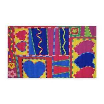 Fun Rugs Hearts & Crafts Accent Rug