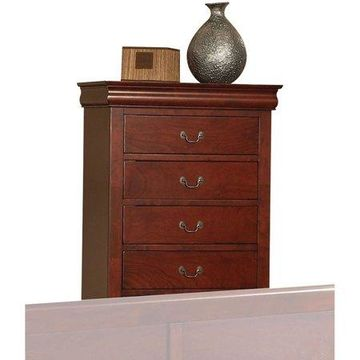 Acme Furniture Louis Philippe III Chest with Five Drawers, Multiple Finishes