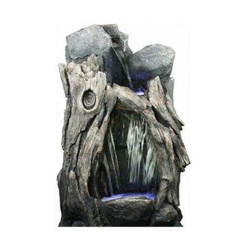 Alpine WIN270 Rainforest Waterfall Fountain With LED Lights