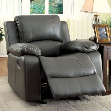 Furniture of America Rathbone Leather Recliner