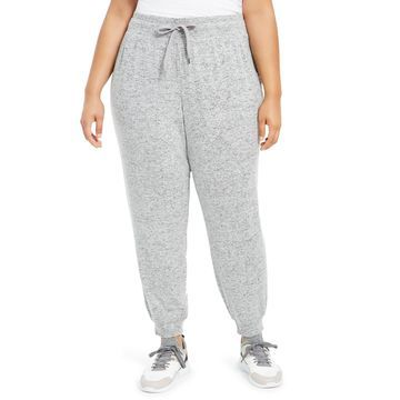 Plus Size Knit Jogger Pants, Created For Macy's