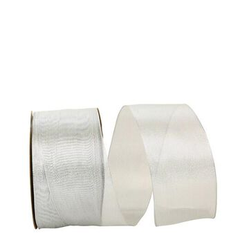 """JAM Paper 2.5"""" Deluxe Wired Edge Mesh Ribbon in Gold   Michaels"""