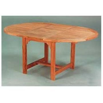 Anderson Teak TBX-067V 67 Inch Oval Extension Table