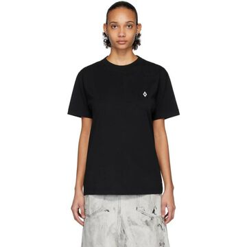 Marcelo Burlon County of Milan Black Logo T-Shirt