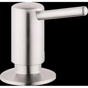 Hansgrohe Soap Dispenser Contemporary Steel Optik