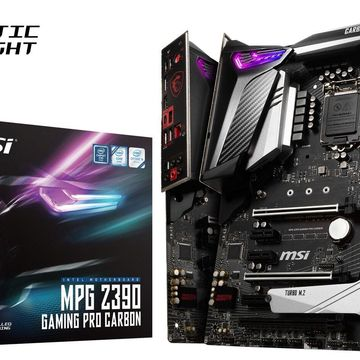 MSI MPG Z390 GAMING PRO CARBON Socket LGA1151 Intel Z390 ATX Motherboard