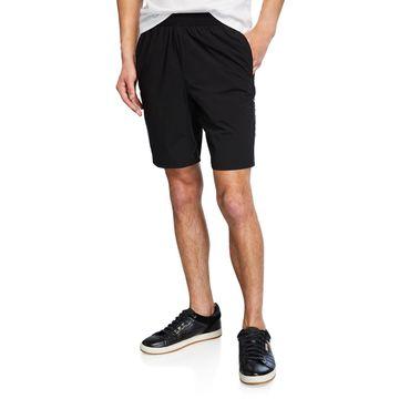 Men's Perforated Logo Shorts