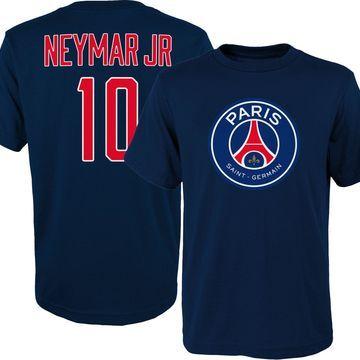 Outerstuff Youth Paris Saint-Germain Neymar #10 Navy Player Tee