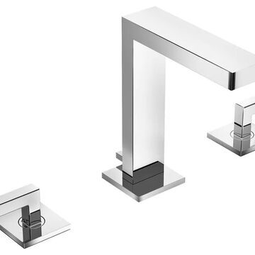 Symmons Duro Polished Chrome 2-handle Widespread WaterSense Bathroom Sink Faucet | SLW-3612-1.0