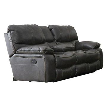 Catnapper Camden Power Reclining Gliding Console Loveseat