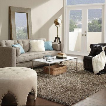Shaw Bling Collection Super Shag Area Rug (5' x 7')