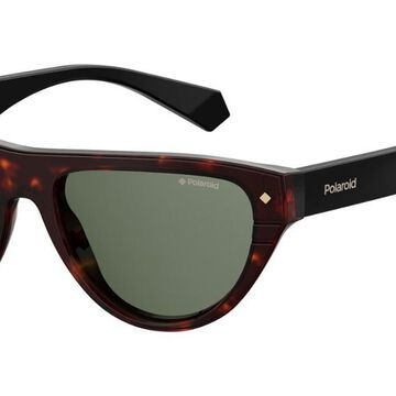 Polaroid PLD 6087/S/X Polarized 086/UC Womenas Sunglasses Size 55