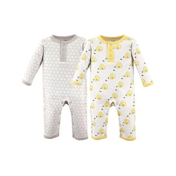 Hudson Baby Rompers Bees - Bees Union Playsuit Set - Newborn & Infant