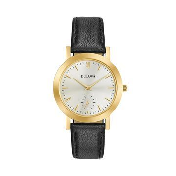Bulova Women's Leather Watch - 97L159