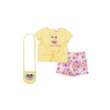 Little Lass 3-pc. Short Set Toddler Girls