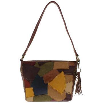 The Sak Womens Demi Handbag Leather Patch - Medium