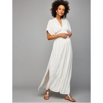 Ella Moss Gauze Maternity Maxi Dress