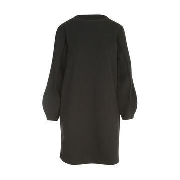 Emporio Armani Knitted L/s Logo Dress