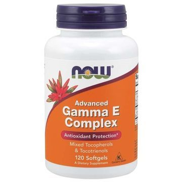 Advanced Gamma E Complex Now Foods 120 Softgel