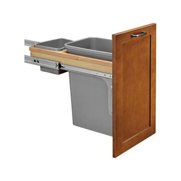 Rev-A-Shelf Single 35 Quart Pull-Out Top Mount Waste Container