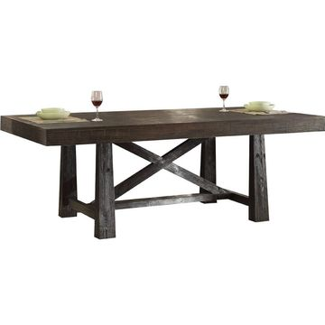 Wooden Dining Table - Benzara