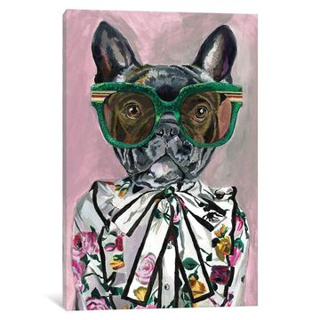 iCanvas ''Gucci Frenchie'' by Heather Perry