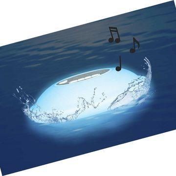 Poolmaster 54504 Portable Floating Waterproof Multi-Light Speaker with Call F...