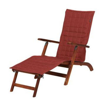 Classic Accessories Montlake Chaise Lounge Slipcover in Red