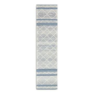 Liora Manne Artista Diamond Stripe Runner Area Rug, 2' x 8'