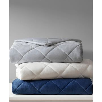 Beautyrest Luxury 12lb Quilted Mink Weighted Blanket Bedding