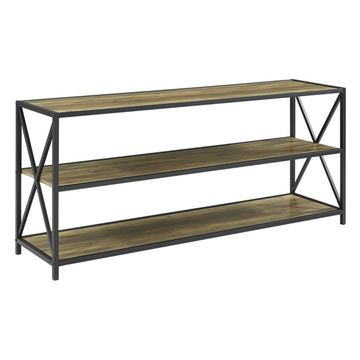 Walker Edison 60 in. Wide X-Frame Console Table