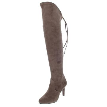 Rialto Womens Calla Faux Suede Tall Over-The-Knee Boots