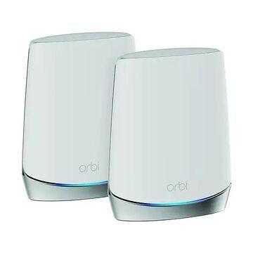 NETGEAR Orbi AX4200 Whole Home Tri-Band Mesh WiFi 6 System, 2-pack (RBK752)