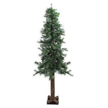 Northlight 6-Foot Traditional Mixed Green Woodland Alpine Christmas Tree
