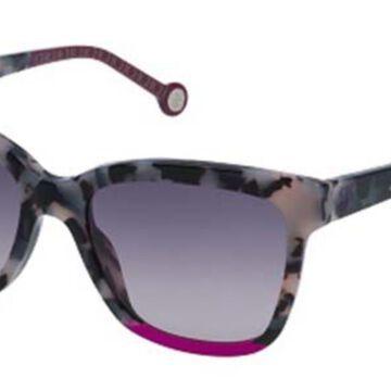 Carolina Herrera SHE744 09BB Men's Sunglasses Tortoise Size 53
