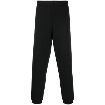high-waisted track trousers
