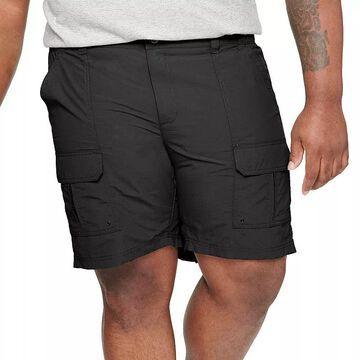 Big & Tall Croft & Barrow Outdoor Ripstop Cargo Shorts, Men's, Size: 50, Black