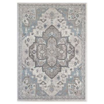 Rugs America Noble Grace 5' x 7' Area Rug in Cream