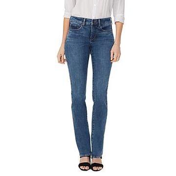 Nydj Marilyn Straight Jeans in Presidio
