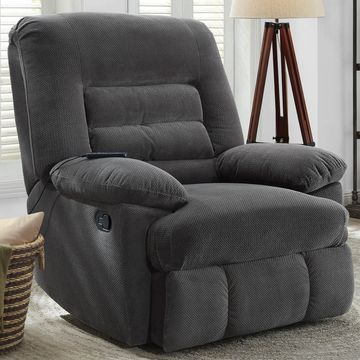 Serta Big & Tall Memory Foam Massage Recliner, Multiple Color Options