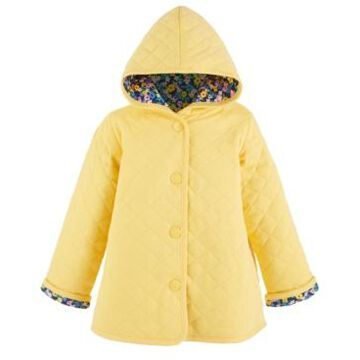 First Impressions Toddler Girls Quilted Reversible Floral Jacket, Created for Macy's