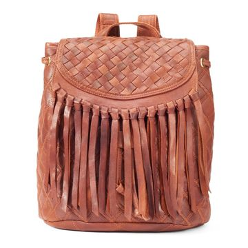 AmeriLeather Briella Leather Backpack