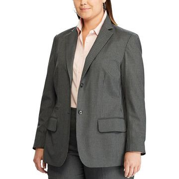 Plus Size Chaps Blazer Jacket