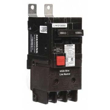 50 A Bolt On Ground Fault Equipment Protection 120/240V AC Not Rated