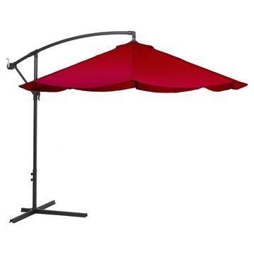 Offset 10' Aluminum Hanging Patio Umbrella - - Pure Garden