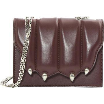Marco De Vincenzo Burgundy Leather Handbags